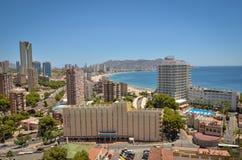 """Gå på gatorna - Valencia strand Spanien Valencia †""""det bästa av det modernt och det historiskt royaltyfria bilder"""