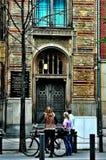 Gå runt om Berlin royaltyfria bilder