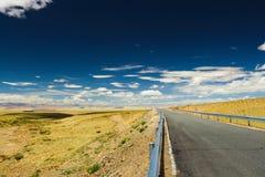Gå till horisonten Arkivfoto