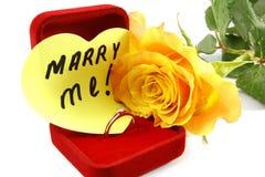 Gå utöver mig att gifta sig Royaltyfria Bilder