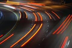 gå ut från motorvägen Royaltyfri Fotografi