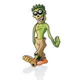 gå zombien Arkivfoto