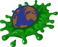 gående green Royaltyfria Bilder