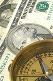 gående pengar söder Arkivbild