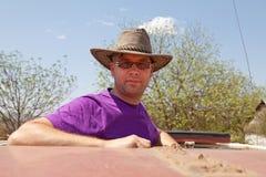 gående safari arkivbilder
