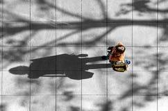 gångare Fotografering för Bildbyråer