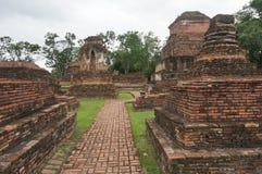 Gångbanan på fördärvar, Thailand Arkivbilder