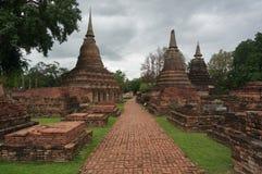 Gångbanan på fördärvar, Thailand Arkivfoto