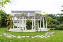 Gångbanasikt, botanisk trädgård Arkivfoto