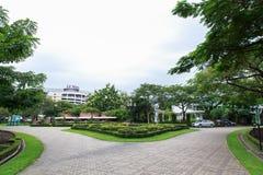 Gångbanasikt, botanisk trädgård Royaltyfri Foto