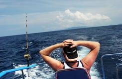 gånget fiska Arkivfoto