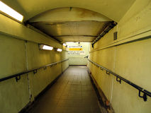 gångtunnel Royaltyfri Foto