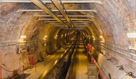 gångtunnel Arkivbilder