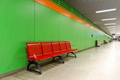 gångtunnel för 2 gångare Fotografering för Bildbyråer