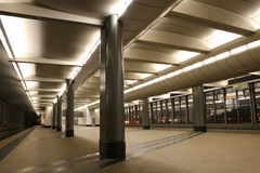 gångtunnel för 5 station Fotografering för Bildbyråer
