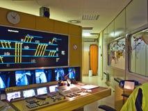 gångtunnel för kontrollstation Arkivfoto
