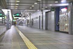 Gångtunnel i Osaka, Japan Arkivfoton