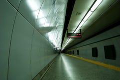 gångtunnelrör Arkivbild