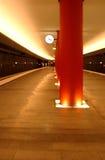 gångtunneltid Arkivfoto