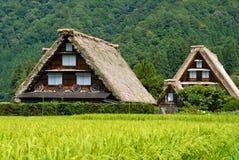 går arvshirakawavärlden Royaltyfria Foton