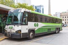 GÅR bussen i Toronto, Kanada Royaltyfri Foto
