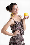 Går citroner! Arkivbilder