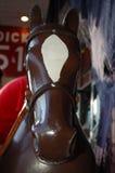går den glada rounden för hästen Royaltyfria Foton