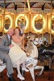 går den romanska rounden Royaltyfri Bild