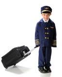 går den små piloten Royaltyfria Foton