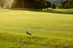 Går golfspelet arkivbilder
