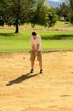 Går golfspelet royaltyfri foto