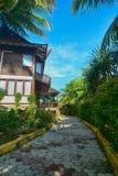 Går gräsplan vår planet Batam Indonesien Fotografering för Bildbyråer