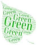 Går grön ekologi Royaltyfria Foton