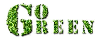 går green Royaltyfria Foton