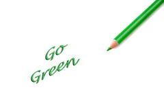 går green royaltyfri bild
