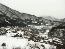 går shirakawaen arkivfoto