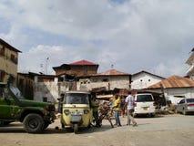 Går vad på? Zanzibar Royaltyfri Bild