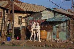Gård för restmetall mombasa Royaltyfri Fotografi