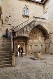 Gård i den Venetian stilen, Kroatien Fotografering för Bildbyråer