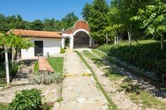 Gård i kloster av St Nicholas Arkivfoton
