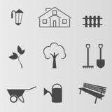 Gårdsymboler Arkivbild