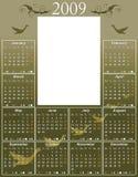 gås för 2009 kalender Royaltyfria Foton