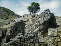 Gåtor av Machu Picchu Royaltyfria Foton