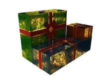gåva för 2009 ask Royaltyfri Fotografi
