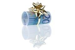 gåva för euro 20 Arkivfoton