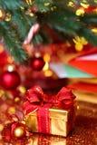 Gåva för juldag Royaltyfri Bild
