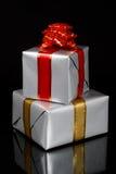 gåva för svarta askar över två Arkivfoton
