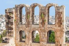 Gåva till och med fönstren av forntiden Arkivbilder