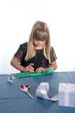 gåva wrapping5 Fotografering för Bildbyråer