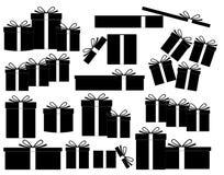 Gåvaaskar Vektor Illustrationer